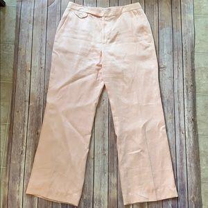 LAUREN Ralph Lauren 100% linen pants size 12